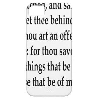Matt. 16:23 iPhone 5 cases