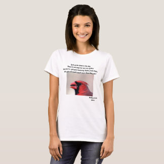 Matt 6: 26 cardinal tshirt