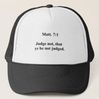 Matt 7 trucker hat