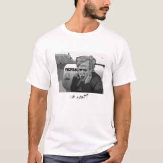 MATT CLARK final grey scale, No what? T-Shirt