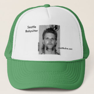 Matt Kolve Seattle Babysitter Trucker Hat