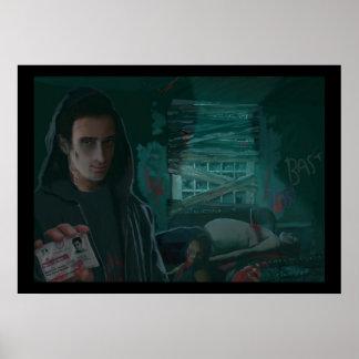 Matt, The Not Particularly Good Vampire Hunter Poster