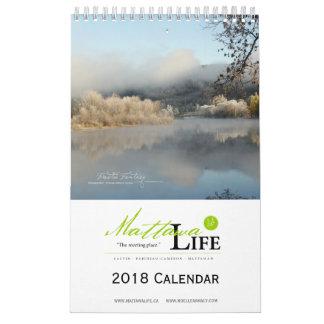 Mattawa Life Calendar 2018 - English