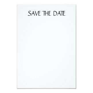 """Matte 3.5"""" x 5"""", white envelopes included SAVEDATE Card"""