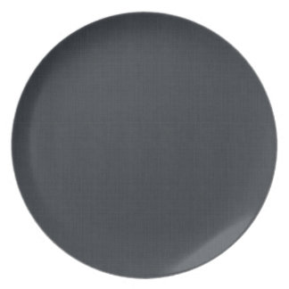 Matte Charcoal Gray Plate