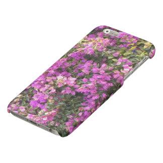Matte Floral design iPhone 6/6s case