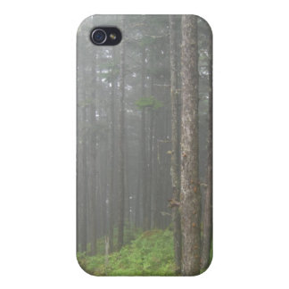 Matte Foggy Forest IPhone 4 Case