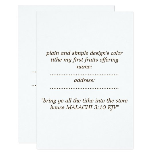 matte standard  white envelope included card