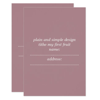 matte standard white invelope included invit card