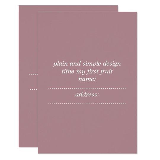 matte standard white invelope included invit card