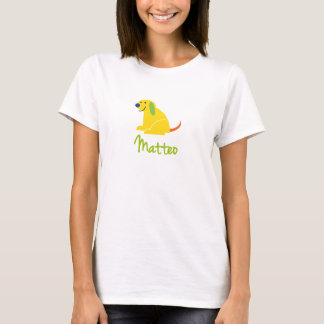 Matteo Loves Puppies T-Shirt