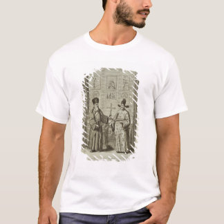 Matteo Ricci (1552-1610) and Paulus Li, from 'Chin T-Shirt