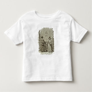 Matteo Ricci (1552-1610) and Paulus Li, from 'Chin Toddler T-shirt