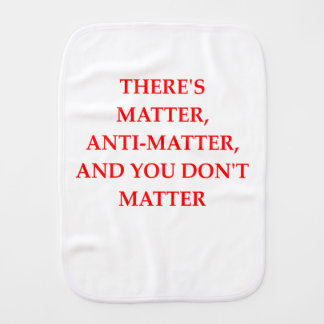 MATTER BURP CLOTH