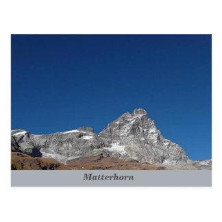 Matterhorn, Alps Postcard