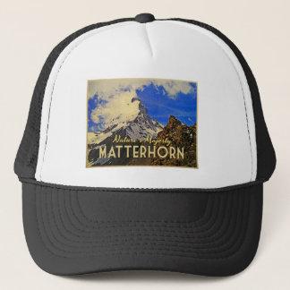 Matterhorn Alps Vintage Trucker Hat