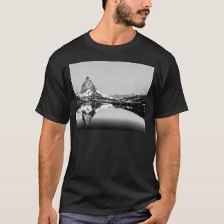 Matterhorn mountain black and white landscape T-Shirt
