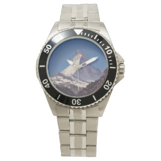 Matterhorn Mountain Stainless Steel Mens Watch