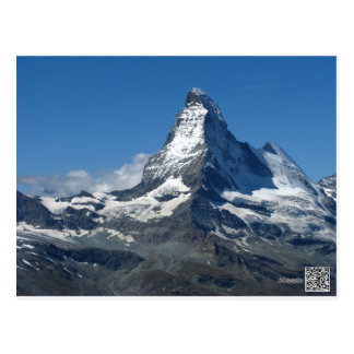 Matterhorn Swiss Alps Postcard
