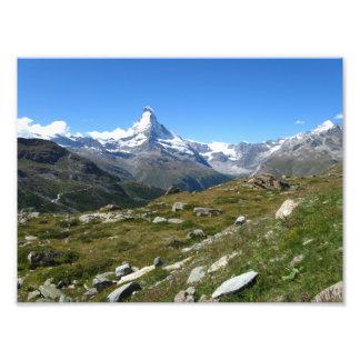 Matterhorn Swiss Alps, Zermatt Photo Print