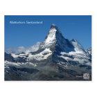 Matterhorn Swiss Alps, Zermatt Postcard