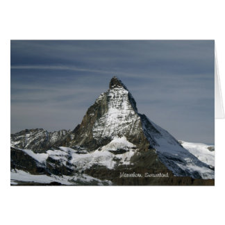 Matterhorn, Switzerland Card