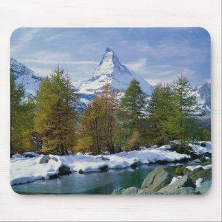 Matterhorn Switzerland Mouse Pad