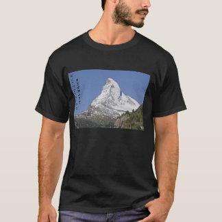Matterhorn with text T-Shirt