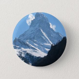 Matterhorn, Zermatt 2 Inch Round Button