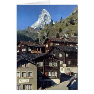 MATTERHORN, ZERMATT SWITZERLAND CARD
