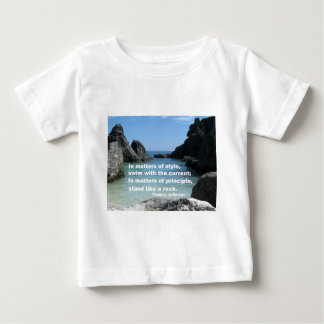 Matters of principle... baby T-Shirt