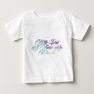 Matthew 19:26 baby T-Shirt