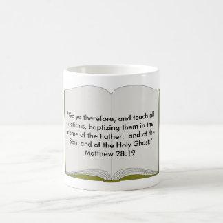 Matthew 28:19 Mug