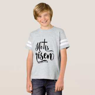 Matthew 28:6  He is Risen T-Shirt