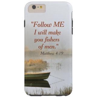 Matthew 4:19 Bible Verse Fishers of Men Tough iPhone 6 Plus Case