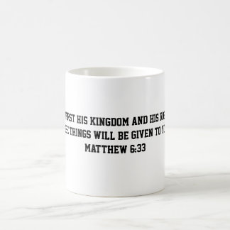 Matthew 6:33 mug