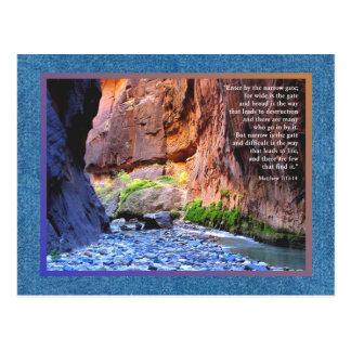 Matthew 7:13-14 Narrow Gate Cards