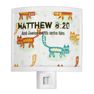 Matthew 8 : 20 ml nite lites