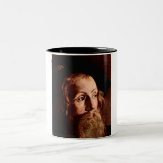 Matthew, a tax collector Two-Tone coffee mug