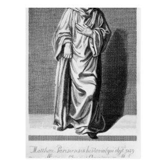 Matthew Paris, 1795 Carte Postale
