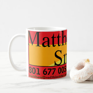 Matthew Smith R2B Certified Public Accountant Coffee Mug