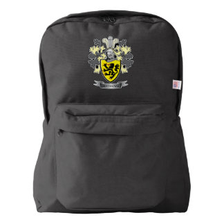 Matthews Family Crest Coat of Arms Backpack