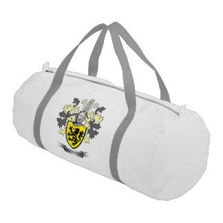 Matthews Family Crest Coat of Arms Gym Bag