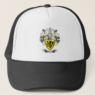 Matthews Family Crest Coat of Arms Trucker Hat