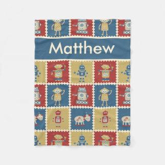 Matthew's Personalized Robot Blanket