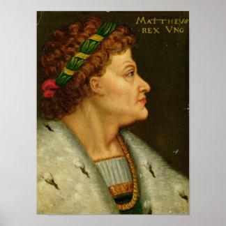 Matthias I, Hunyadi Poster