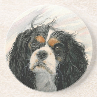 Mattie the King Charles Cavalier Coaster