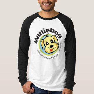 MattieDog Long Sleeves Raglan T-Shirt