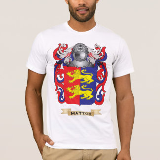 Mattox Coat of Arms (Family Crest) T-Shirt