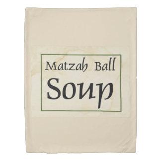 Matzah Ball Soup Duvet Cover